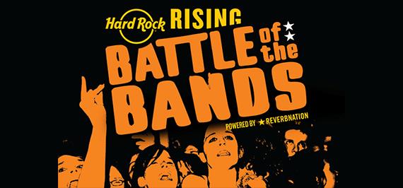 世界規模のバンドコンテスト「HARD ROCK RISING 2017」
