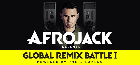 "Afrojack Presents ""Global Remix Battle I"" Powered by PMC Speakers"