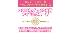 2019年ブレイク候補アイドルグループ